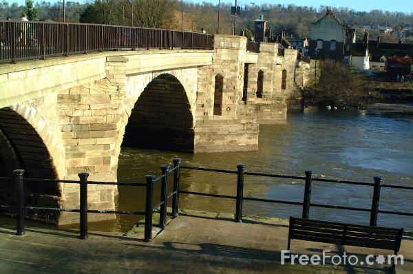 Picture of Bridgnorth - Free Pictures - FreeFoto.com