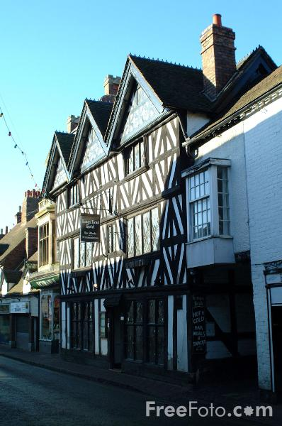 Picture of Kings Head Hotel, Bridgnorth - Free Pictures - FreeFoto.com