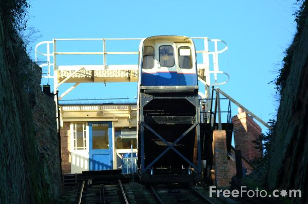 Picture of Bridgnorth Castle Hill Cliff Railway - Free Pictures - FreeFoto.com