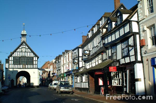 Picture of Bridgnorth Town Hall - Free Pictures - FreeFoto.com