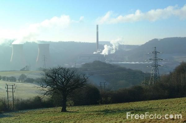 Picture of Ironbridge Power Station, Shropshire - Free Pictures - FreeFoto.com