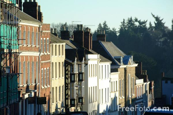 Picture of Broad Street, Ludlow - Free Pictures - FreeFoto.com