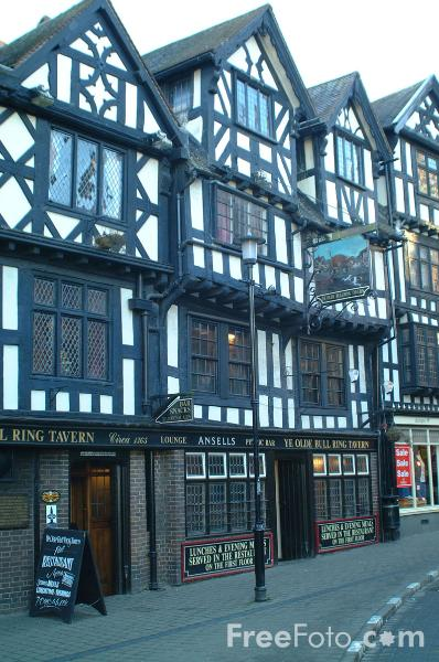Picture of Ye Olde Bull Ring Tavern, Ludlow - Free Pictures - FreeFoto.com
