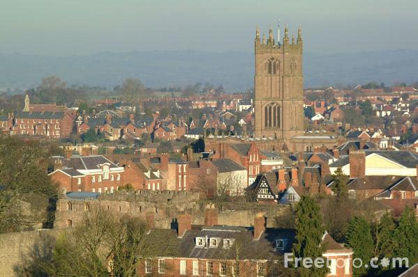 Picture of St Laurence's Parish Church, Ludlow - Free Pictures - FreeFoto.com