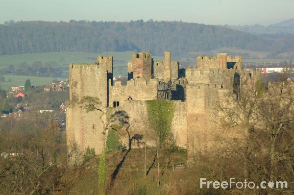 Picture of Ludlow Castle - Free Pictures - FreeFoto.com