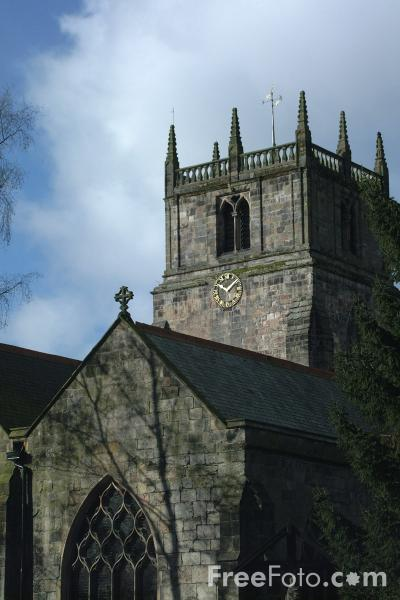 Picture of Parish Church, Oswestry, Shropshire, England - Free Pictures - FreeFoto.com