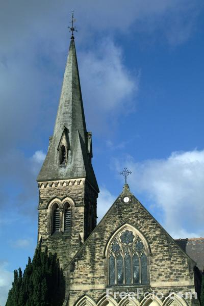Picture of Christ Church, Oswestry, Shropshire, England - Free Pictures - FreeFoto.com