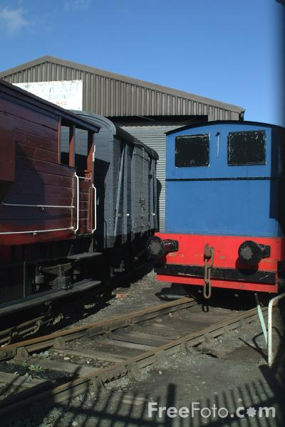 Picture of Cambrian Railway Society Museum, Oswestry, Shropshire, England - Free Pictures - FreeFoto.com