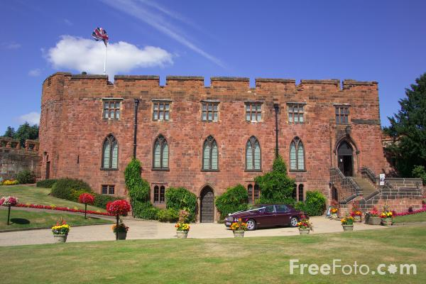 Picture of Shrewsbury Castle , Shropshire - Free Pictures - FreeFoto.com