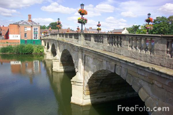 Picture of River Severn in Shrewsbury - Free Pictures - FreeFoto.com