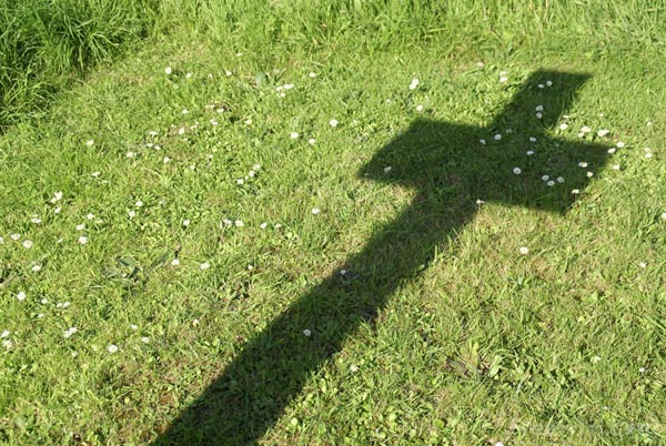 Picture of Shadow of a cross - Free Pictures - FreeFoto.com