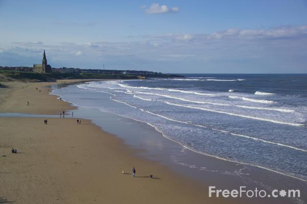 Picture of Cullercoats - Free Pictures - FreeFoto.com
