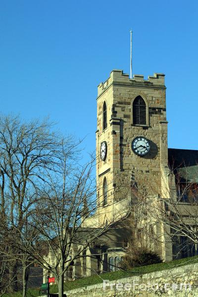 Picture of Sunderland Minster - Church of St. Michael - Free Pictures - FreeFoto.com