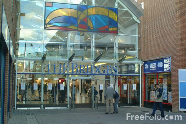 Picture of The Bridges Shopping Centre, Sunderland - Free Pictures - FreeFoto.com