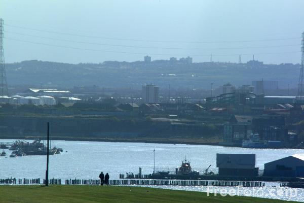 Picture of River Tyne, Tynemouth, - Free Pictures - FreeFoto.com