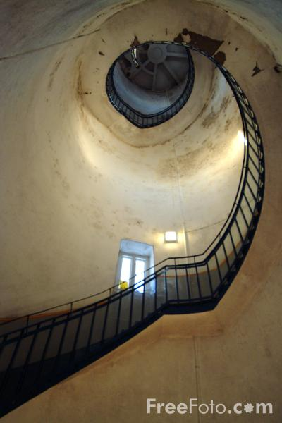 Picture of Staircase, St Mary's Lighthouse, Whitley Bay - Free Pictures - FreeFoto.com