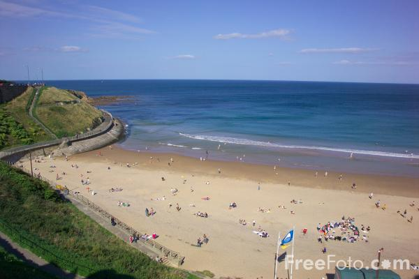 Picture of Tynemouth Beach - Free Pictures - FreeFoto.com
