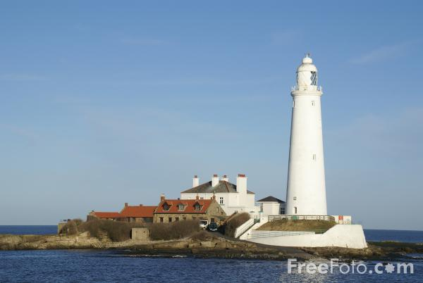 Picture of St Mary's Lighthouse, Whitley Bay - Free Pictures - FreeFoto.com