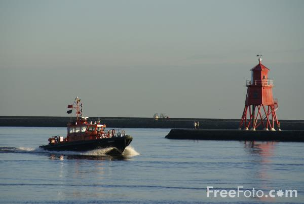 Picture of Tyne pilot cutter, River Tyne, Tynemouth - Free Pictures - FreeFoto.com
