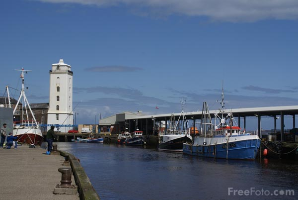 Picture of North Shields Fish Quay - Free Pictures - FreeFoto.com