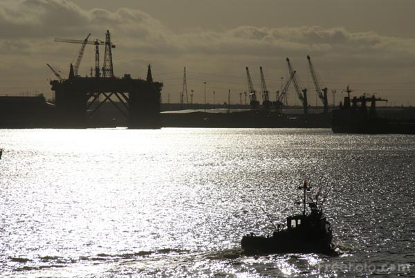 Picture of River Tyne, North Shields - Free Pictures - FreeFoto.com