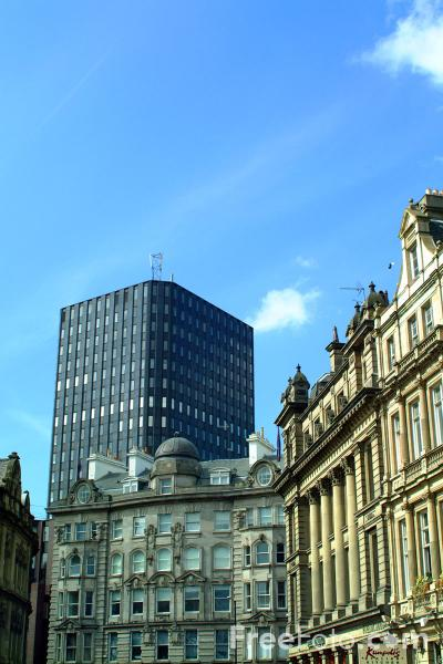 Picture of Office Block, Newcastle Upon Tyne - Free Pictures - FreeFoto.com