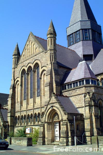 Picture of Church, Newcastle upon Tyne - Free Pictures - FreeFoto.com
