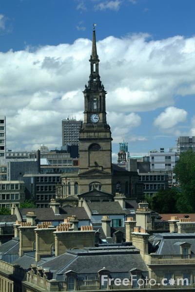 Picture of All Saints Church, Newcastle upon Tyne - Free Pictures - FreeFoto.com