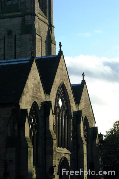 Picture of Saint Mary`s Roman Catholic Cathedral, Newcastle upon Tyne - Free Pictures - FreeFoto.com