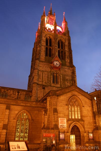 Picture of St Nicholas Cathedral, Newcastle upon Tyne - Free Pictures - FreeFoto.com