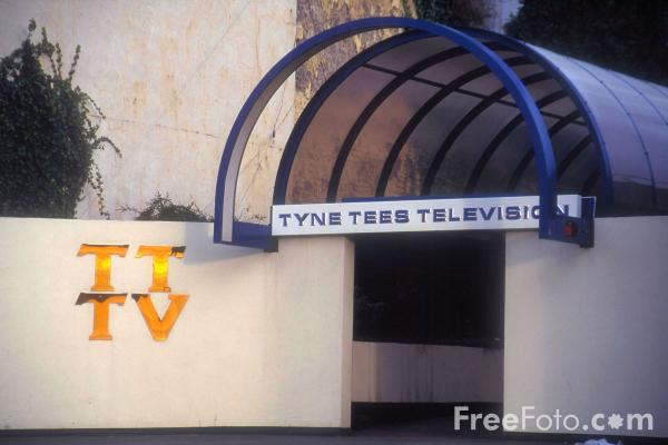 Picture of Tyne Tees Television Building, City Road, Newcastle - Free Pictures - FreeFoto.com