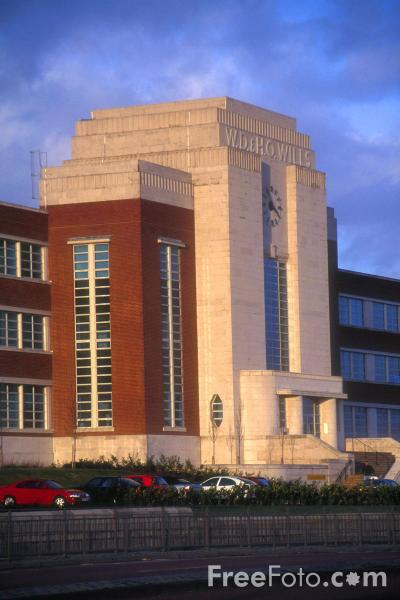 Picture of WD and HO Wills Art Deco style building, Newcastle upon Tyne -