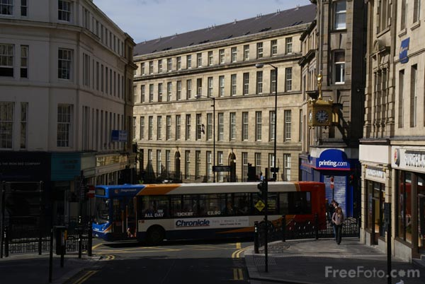 Picture of Clayton Street, Newcastle upon Tyne - Free Pictures - FreeFoto.com