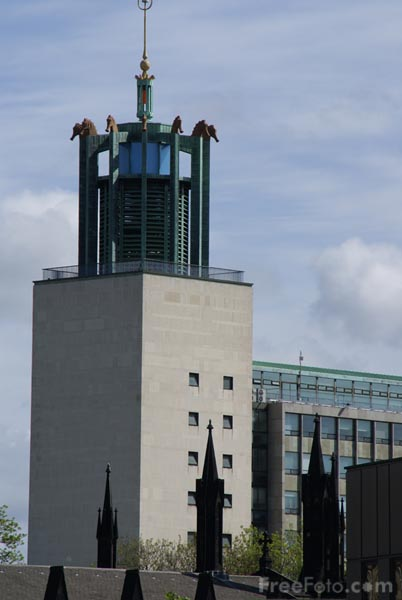 Picture of The Civic Centre, Newcastle upon Tyne - Free Pictures - FreeFoto.com