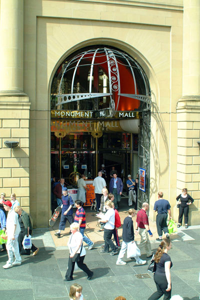 Picture of Monument Mall, Newcastle upon Tyne - Free Pictures - FreeFoto.com