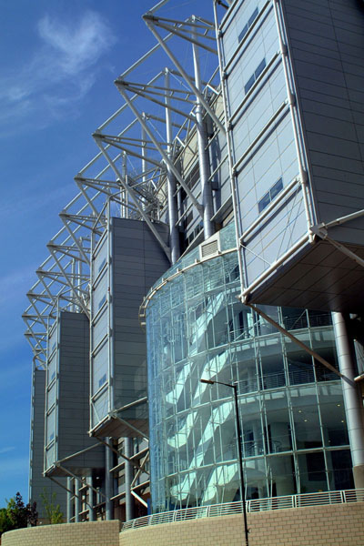 Picture of Newcastle United FC St James' Park football ground. - Free Pictures - FreeFoto.com