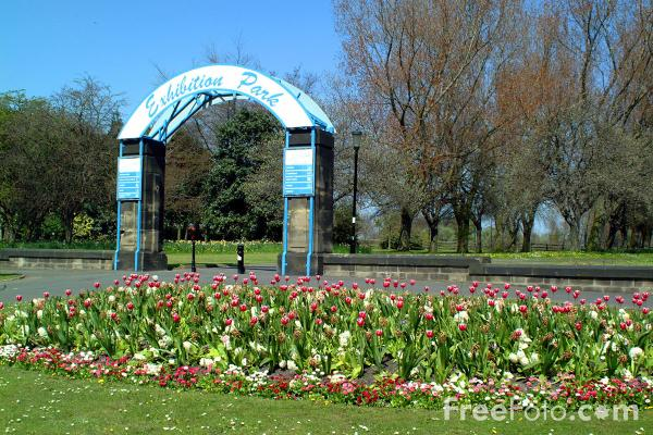 Picture of Exhibition Park, Newcastle upon Tyne - Free Pictures - FreeFoto.com