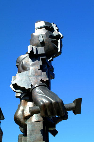 Picture of Sculpture, Newcastle upon Tyne - Free Pictures - FreeFoto.com