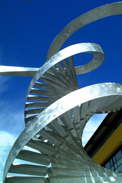 Picture of Sculpture, Life Interactive World, Newcastle upon Tyne - Free Pictures - FreeFoto.com