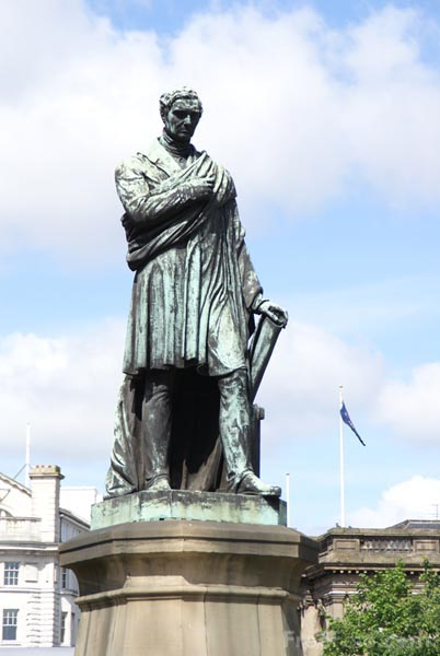 Picture of George Stephenson Statue, Newcastle upon Tyne - Free Pictures - FreeFoto.com