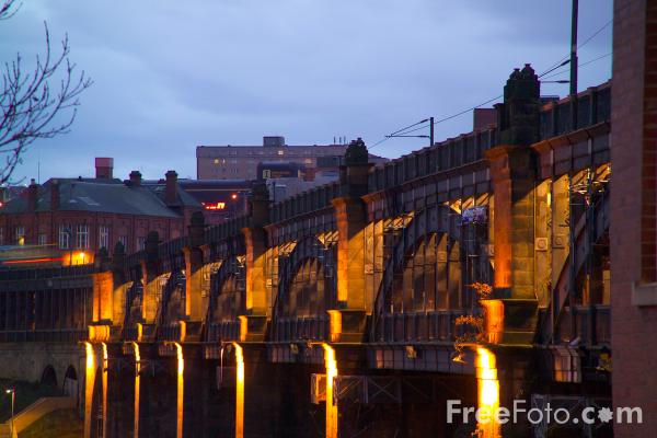 Picture of High Level Bridge, Newcastle upon Tyne - Free Pictures - FreeFoto.com