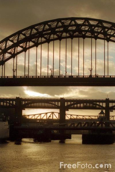 Picture of Tyne Bridge, Newcastle upon Tyne - Free Pictures - FreeFoto.com