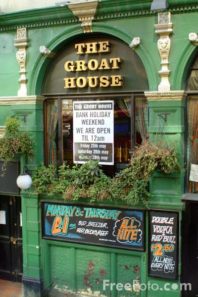Picture of The Groat House, The Bigg Market, Newcastle upon Tyne - Free Pictures - FreeFoto.com