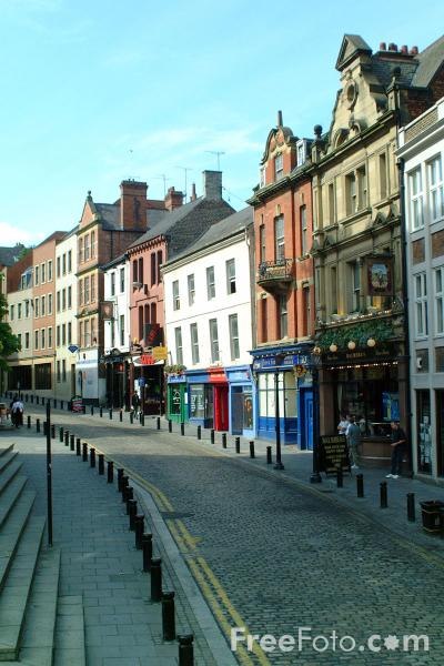 Picture of The Bigg Market, Newcastle upon Tyne - Free Pictures - FreeFoto.com