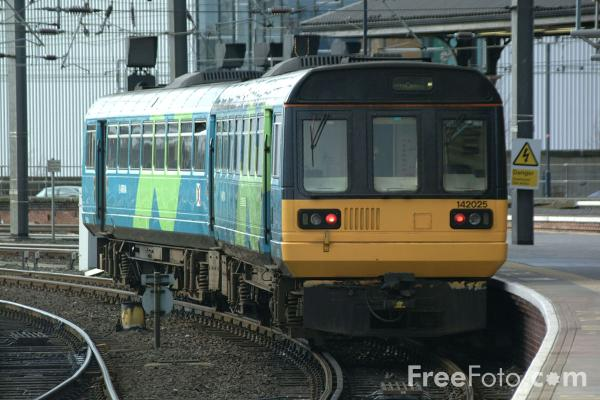 Picture of Arriva Pacer Train, Central Station, Newcastle upon Tyne - Free Pictures - FreeFoto.com