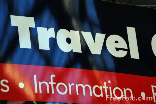 Picture of Travel Information, Central Station, Newcastle upon Tyne - Free Pictures - FreeFoto.com
