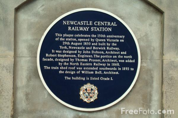 Picture of Central Station, Newcastle upon Tyne - Free Pictures - FreeFoto.com