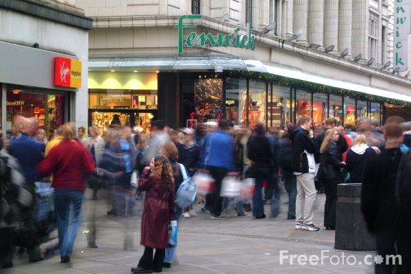Picture of Northumberland Street, Newcastle upon Tyne - Free Pictures - FreeFoto.com