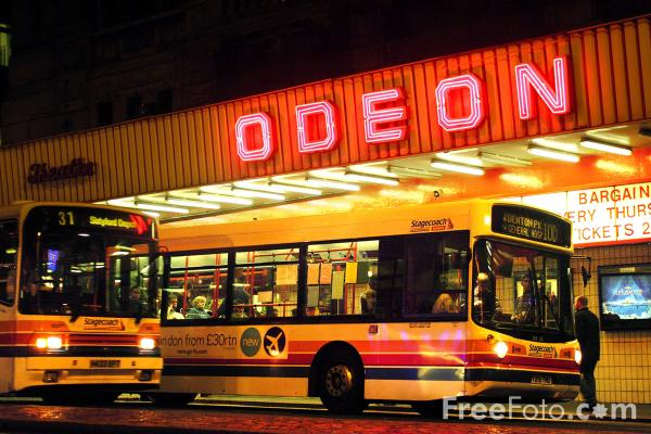 Picture of The old Odeon, Newcastle upon Tyne - Free Pictures - FreeFoto.com