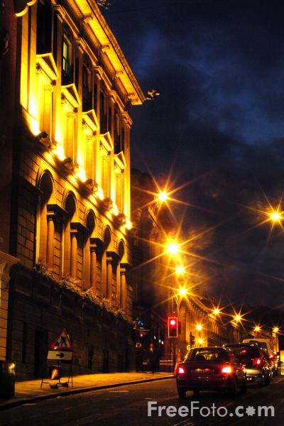 Picture of Night-time, Newcastle Upon Tyne - Free Pictures - FreeFoto.com